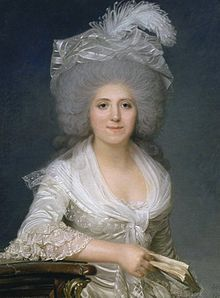Portrait of Madame Campan