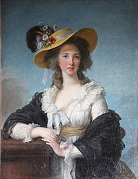 Portrait of the Comtesse de Polignac