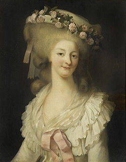 Portrait of the Princesse de Lamballe