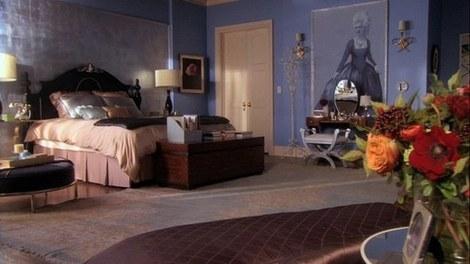 Portrait in Blair Waldorf's bedroom.