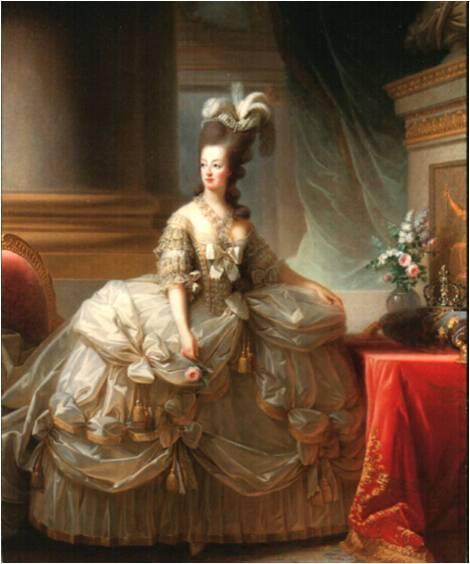 Portrait of Marie Antoinette by Elisabeth Vigee-Lebrun, 1779