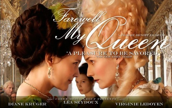 """Farewell, My Queen"" Movie Poster"